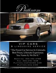 DENVER PLATINUM AIRPORT LIMOUSINE & CAR SERVICE LLC - Denver, CO