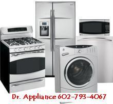 Appliance Repair Stove Refrigerator Icemaker Dishwasher Dryer Washer by Dr. Appliance