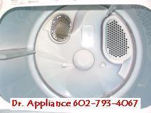 Clothes Dryer repair Phoenix Scottsdale Mesa Tempe Glendale by Dr. Appliance