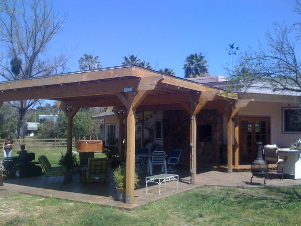 New patio cover from Deck Builders San Diego in San Diego