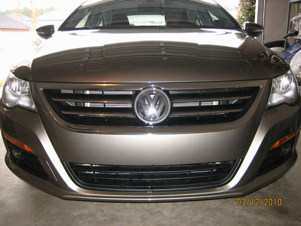 2010 Volkswagen Cc Sport Clear Bra Installation From