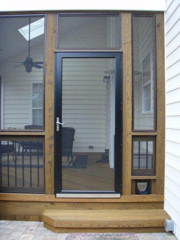 View topic window inserts for Storm door screen insert