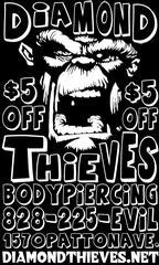 Diamond Thieves Body Piercing - Asheville, NC