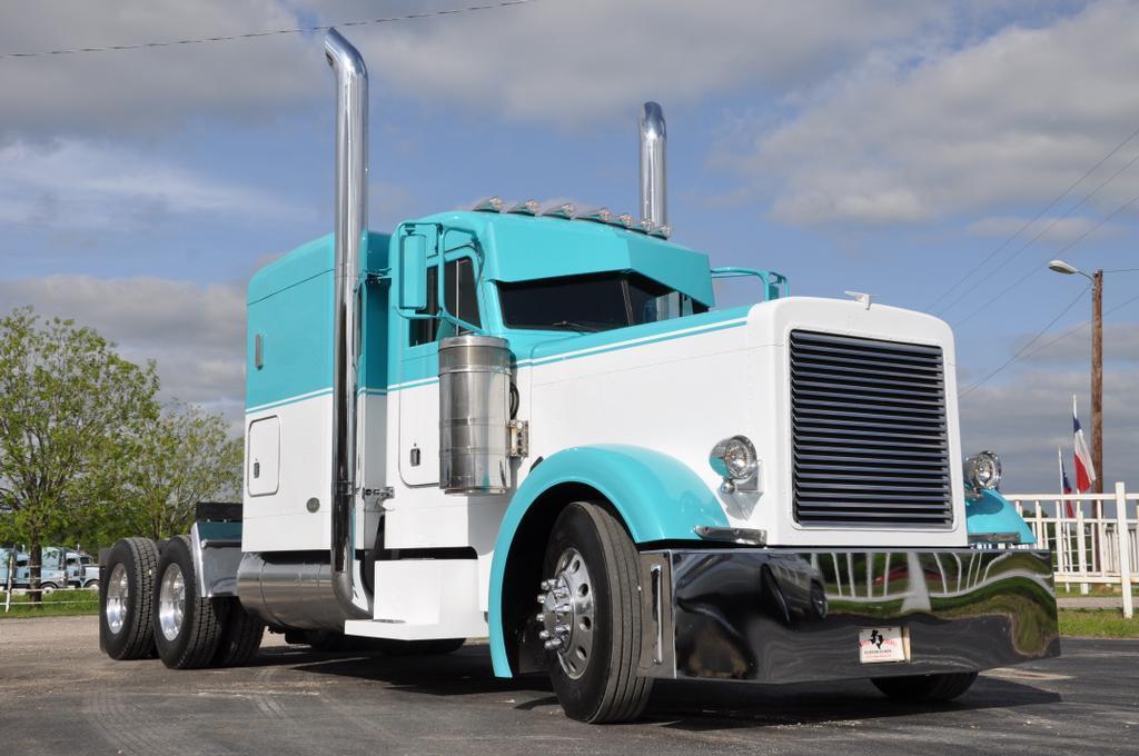 Semi Tractor Accessories : Semi truck chrome bbt