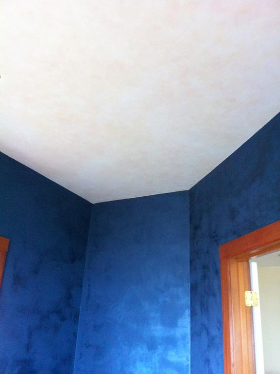 blue lusterstone office with glazed pearl ceiling 9 20. Black Bedroom Furniture Sets. Home Design Ideas