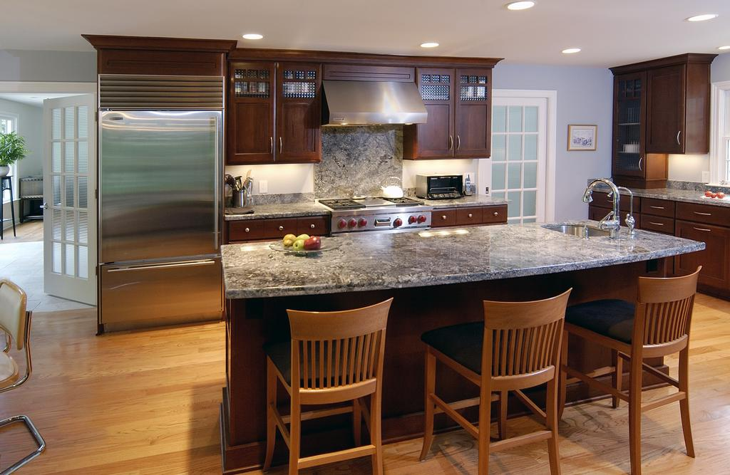 remodeled kitchen from acheson builders inc in ann arbor