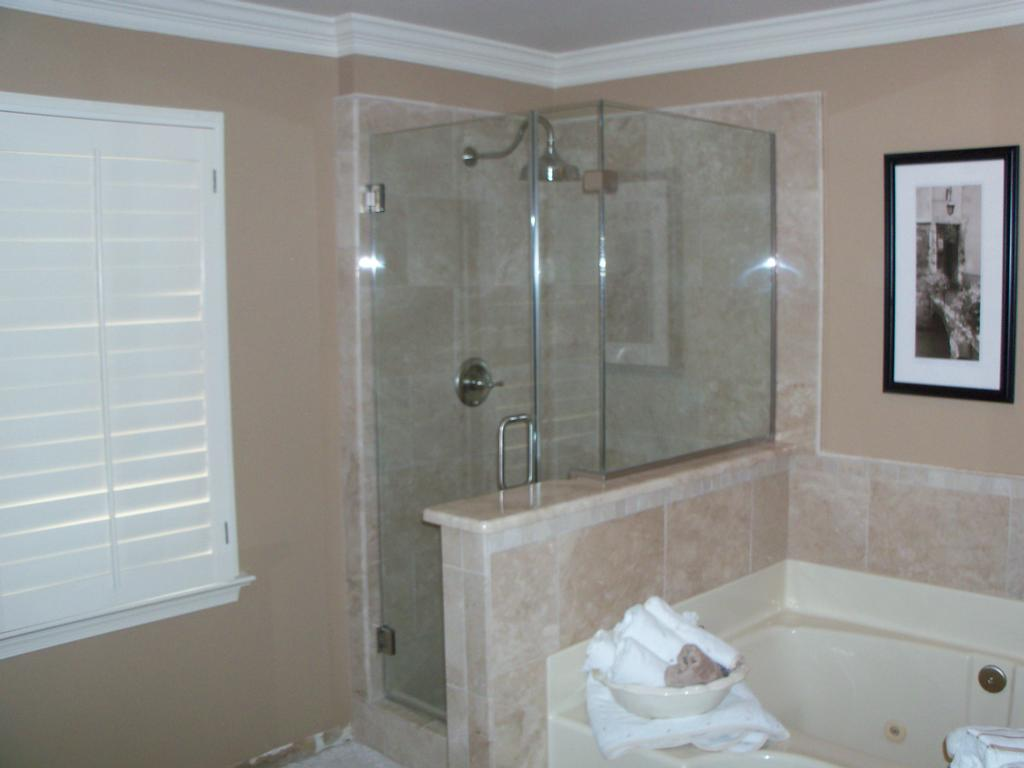 Frameless Shower Enclosure From A Better View Glass