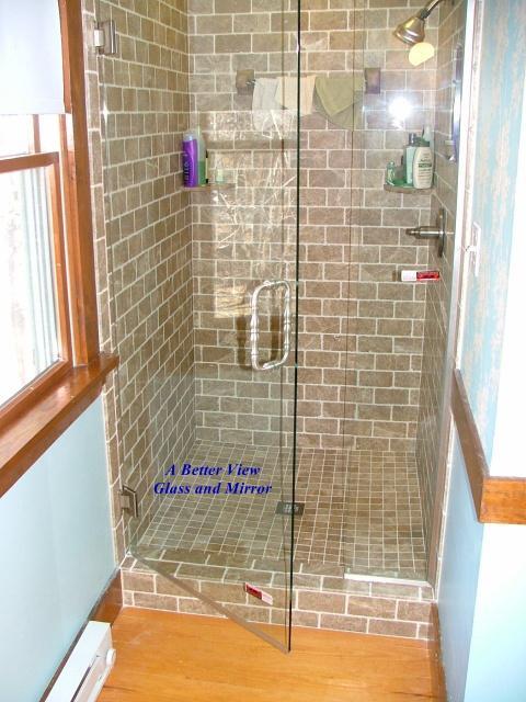 Shower Mirrors Doors Ideas 2016 Custom Shower Glass Doors Cost