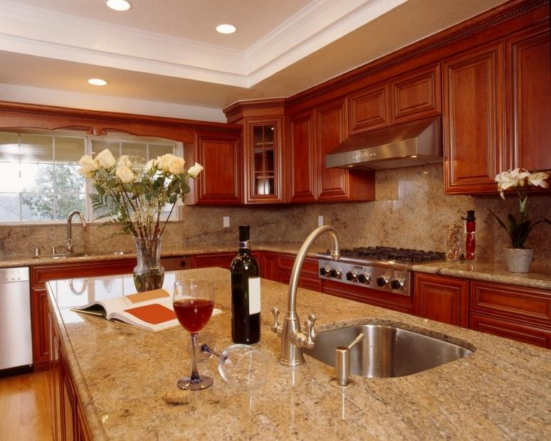 Granite Tops For Kitchen : Most Popular Granite Countertop Colors Custom Granite Countertops ...