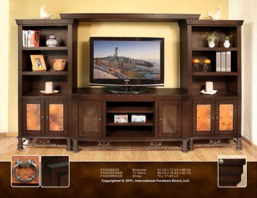 Picture: Valencia Entertainment Wall Unit Rustic Southwest.jpg ...