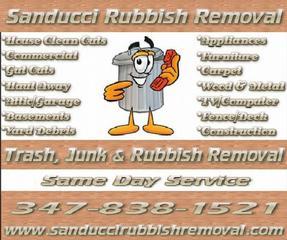 Sanducci Rubbish Removal - Staten Island, NY