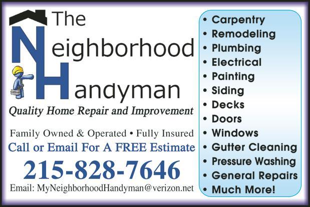 The-Neighborhood-Handyman ad from The Neighborhood Handyman in ...