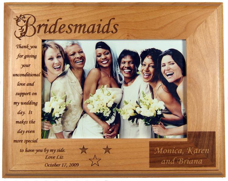 Contemporary Bridesmaid Picture Frames Gallery - Ideas de Marcos ...