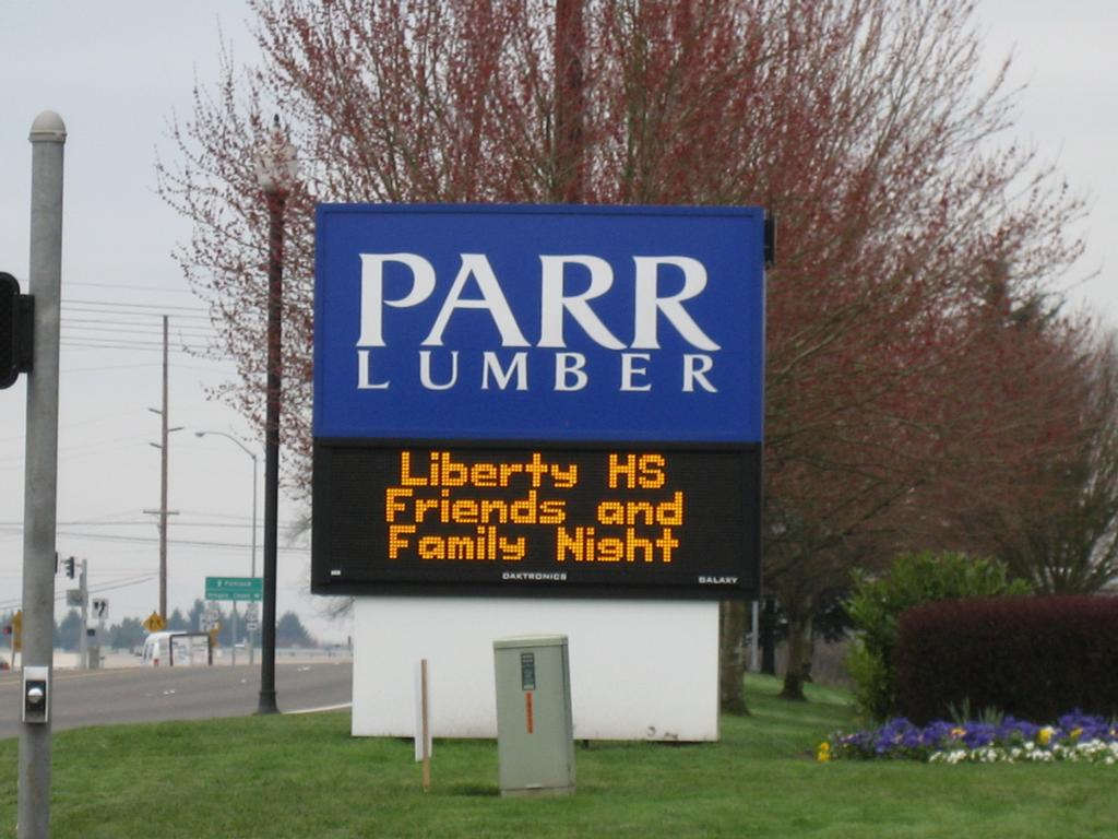 Security signs portland or 97202 503 232 4172 for Parr lumber