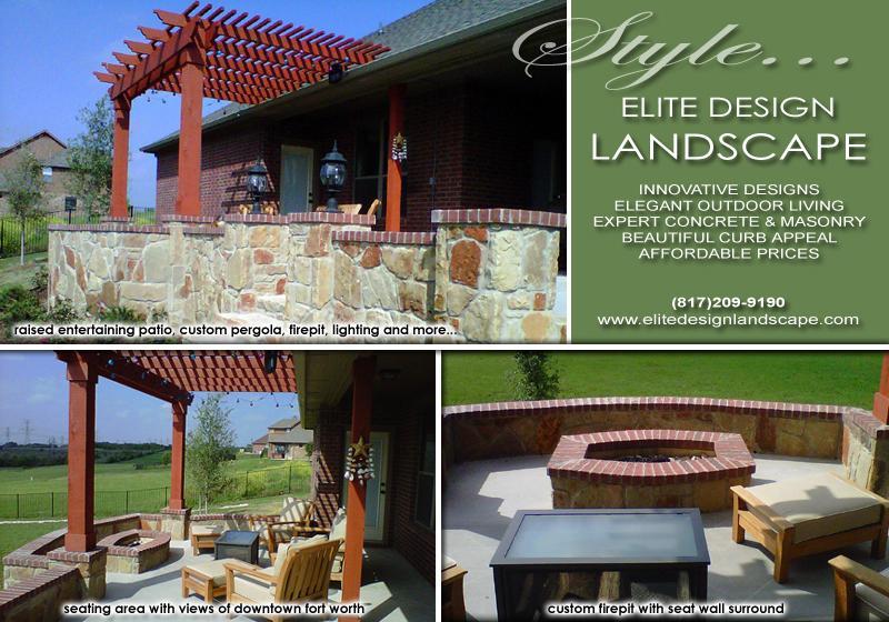 Elite Design Landscape - Fort Worth TX 76135 | 817-209-9190