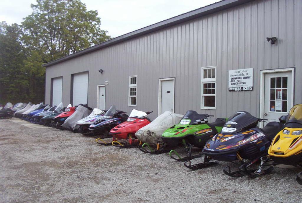 Used Yamaha Snowmobile Parts In Minnesota