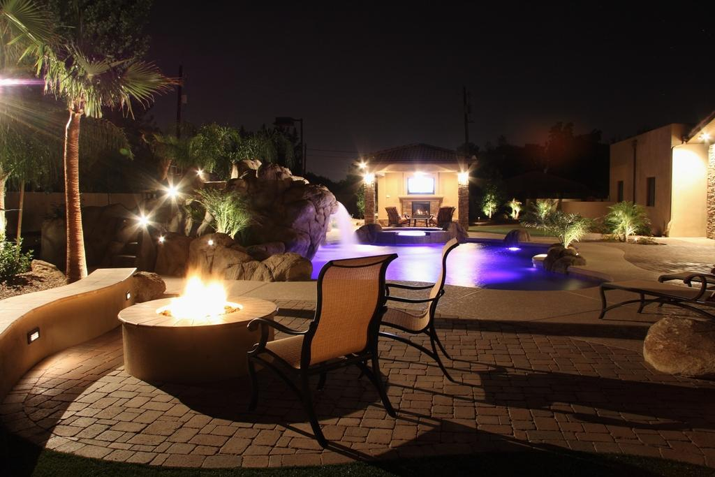 Pictures for unique custom pools llc in phoenix az 85254 Ultimate lighting