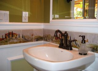 Kitchen Backsplash Ideas Decorative Tiles From Linda Paul Studio Linda Paul Studio In