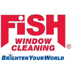 fish logo from fish window cleaning in los angeles ca 90066