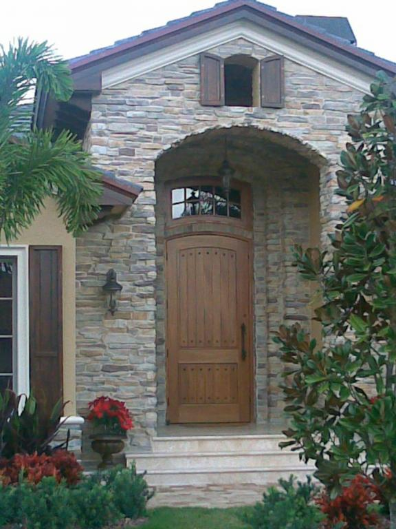 French Country Front Entry From Joel E Winter Designs Inc