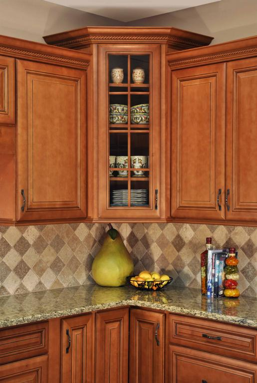 Corner Kitchen Cabinets Design Part - 26: Marvelous Corner Kitchen Cabinets Design Idea