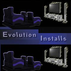 Evolution Installs Home Theater Home Audio Tv Installation Surround Sound Cabling Audio