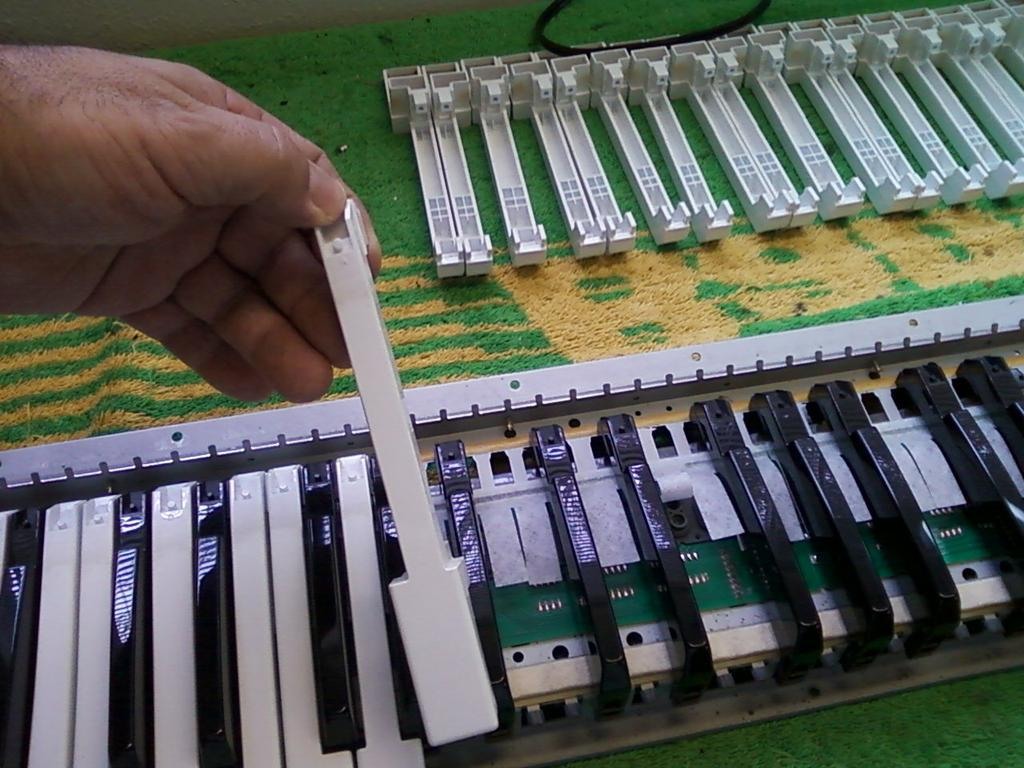 Roland D 50 Keyboard Assemble from AustinKeyboards Electronic