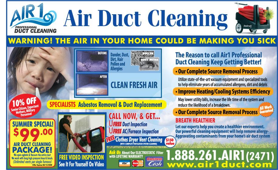 Pictures For Air 1 Duct Cleaning Asbestos Removal
