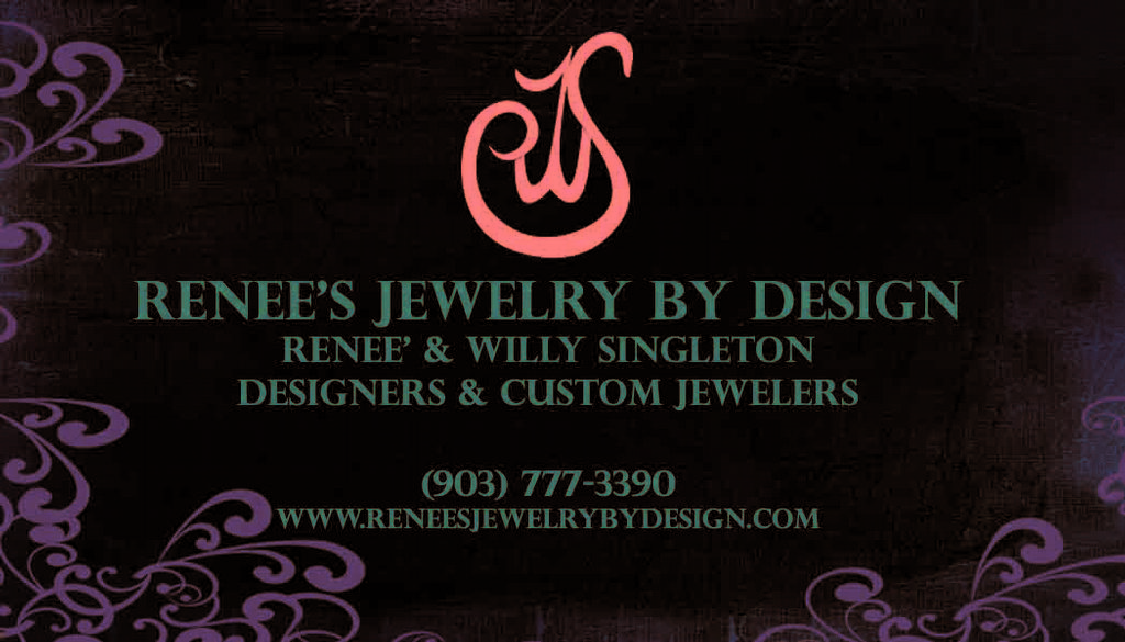 Jewelry Business Card from Renee\'s Jewelry by Design in Diana, TX 75640