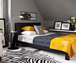 bedroom blackyellow from house to home in ellicott city, md, Bedroom decor