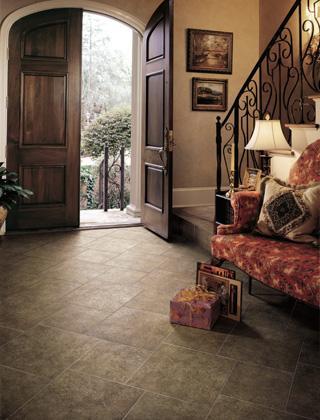 Living room floor tile from Phoneix tile installation in Phoenix