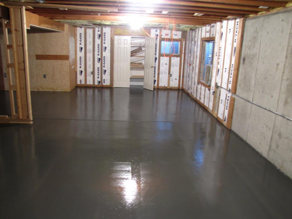 basement floor coating by dowd restoration