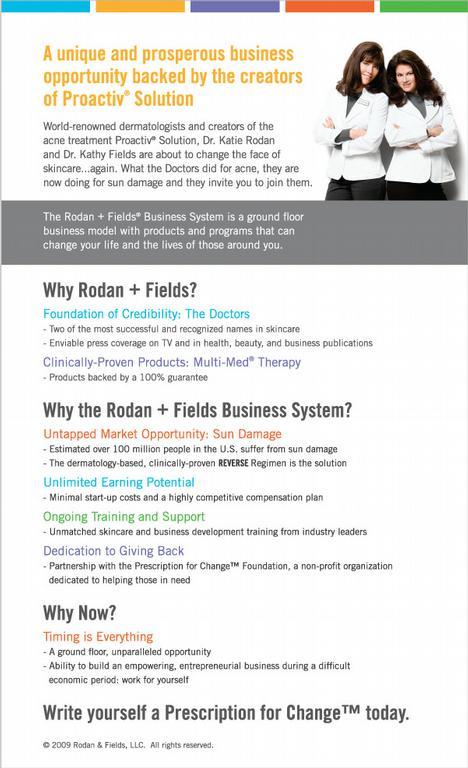 Why Rodan + Fields is killing the direct sales game
