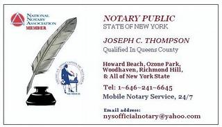 Notary business card sample arts arts notary public business cards templates arts reheart Gallery