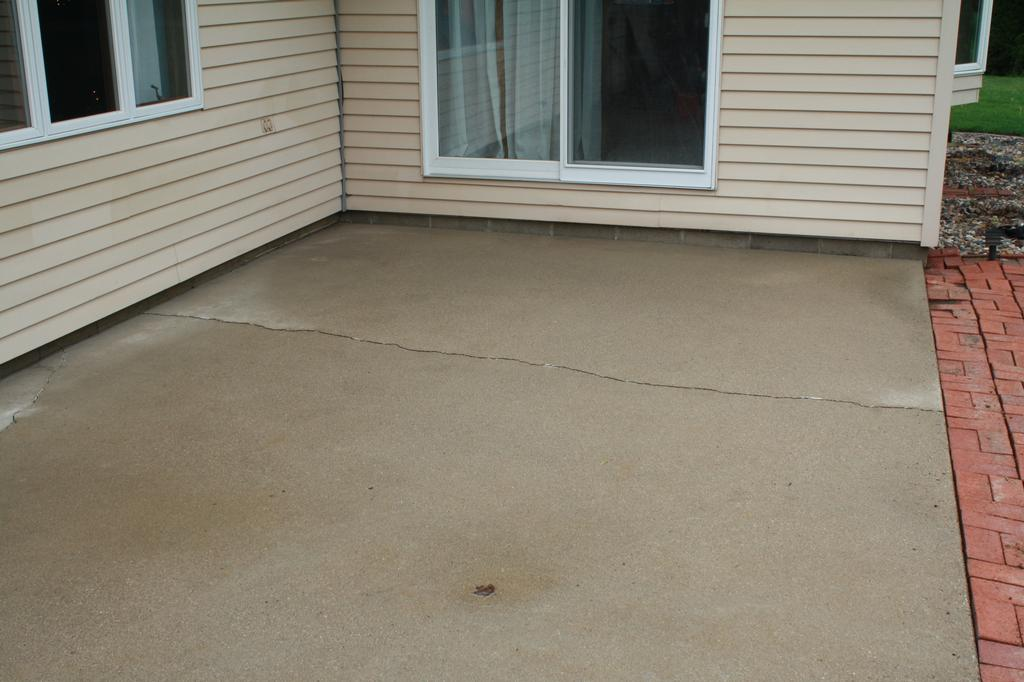 Pictures for design a crete decorative concrete in for Cleaning colored concrete