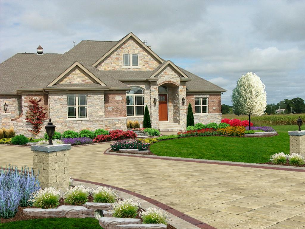Pictures for streamline professional landscape design for Professional landscaping