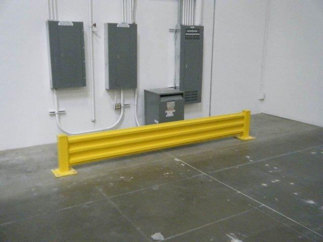 Guard rails from reliance warehouse systems in frisco tx
