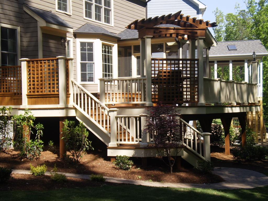 Multi Level Deck From Creative Design Builders Inc In