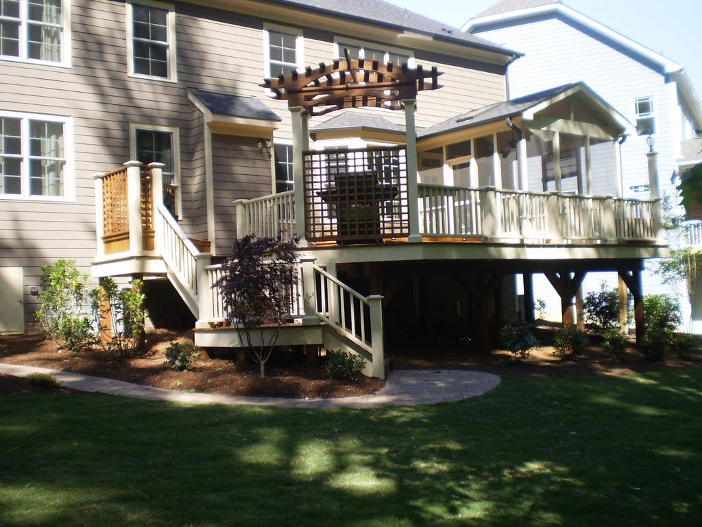 Multi Level Patio Decks : MultiLevel Deck from Creative Design Builders Inc in Raleigh, NC