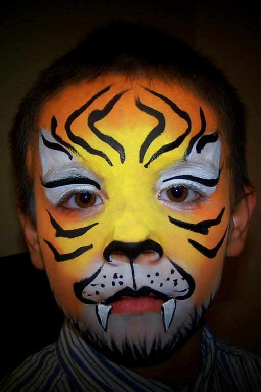 FP Tiger Boy Portrait From Joyful Faces Face Painting Amp Balloon Twisting In Surprise AZ 85374