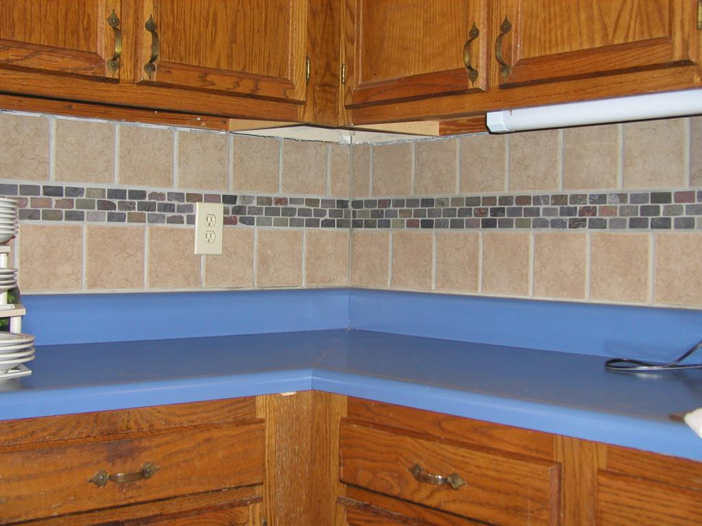 Kitchen Backsplash From Crew Of Two Renovations Handyman In Charlotte Nc 28277