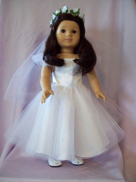 american girl first  munion dress from kitt s kloset doll clothes in