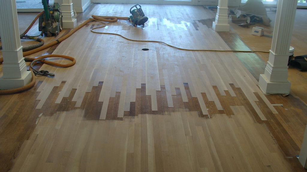 laminated art flooring glass