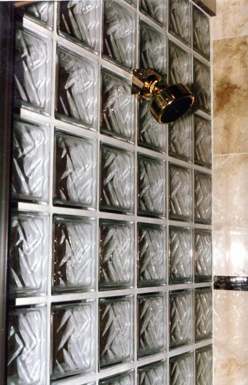 Marble Master Steam Shower Glass block from RM Design ...