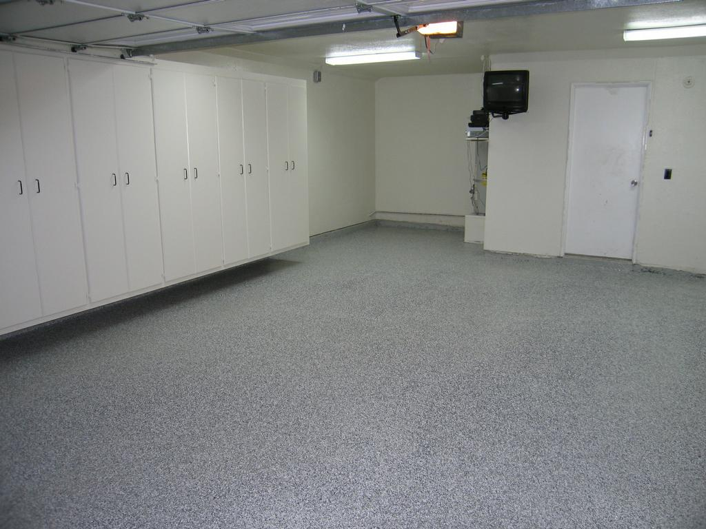 A Custom Garage Garage Cabinet Epoxy Floor Specialists