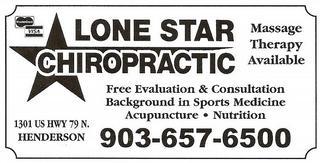 Lone Star Chiropractic - Henderson, TX