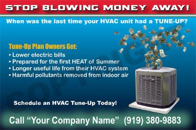 HVAC Business Forms & Service Stickers - Cary NC 27511 | 888-697-0777