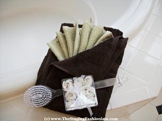 decorative towel folding instructions