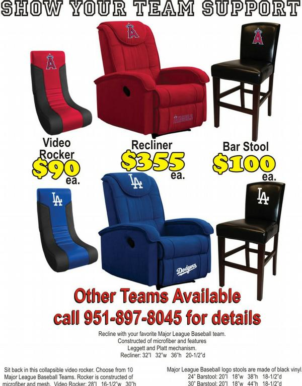 Sports Teams Seating. Special627MattressCLad By Riverside Discount Furniture