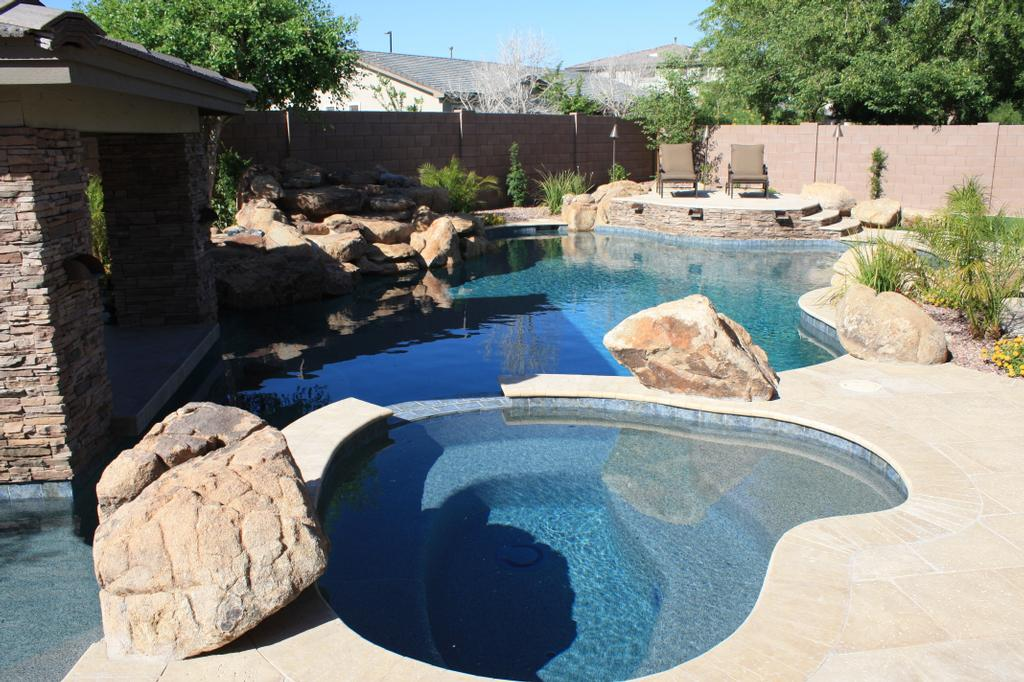 Arizona swimming pools alexon design landscaping from for Pool design az